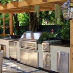 Diy Outdoor Kitchen Plans Kraus Sinks 17 Turn Your Backyard Into Entertainment Zone
