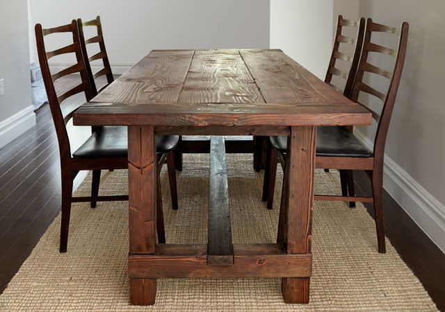 Dining Building Table Rustic