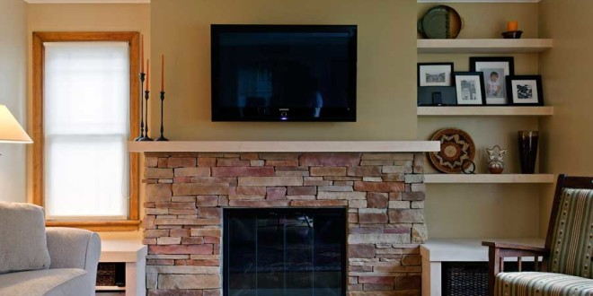 12 Brick Fireplace MakeoverIdeas To Update Your Old Fireplace  Home And Gardening Ideas
