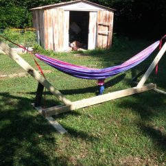 Hammock Chair Stands Diy Used Theater Chairs 30 Stand And Hammocks To Build This Summer