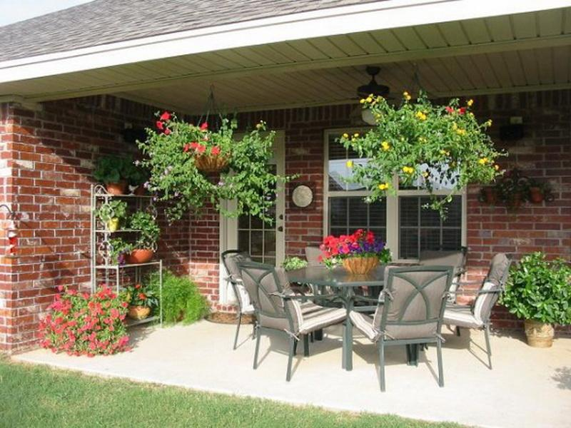 Decorating Ideas Patio Decorating Ideas To Relax On A Hot Days ...