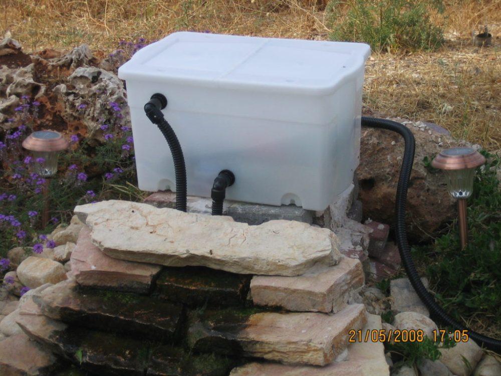 medium resolution of gravitational koi pond filter