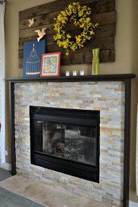 15 Elegant DIY Fireplace Mantel And Surrounds  Home And ...