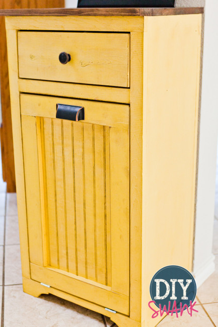 12 Tilt Out Trash Cabinets To Stash Unsightly Garbage Can
