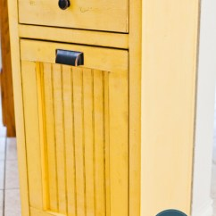 Paint Or Stain Kitchen Cabinets Swivel Aerator For Faucet 12 Tilt Out Trash To Stash Unsightly Garbage Can ...