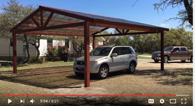 10 Free Carport Plans Build A Diy Carport On A Budget Home And
