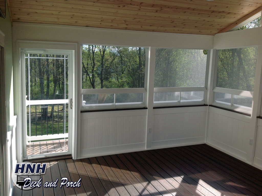 Porches Amp Screened Room Gallery HNH Deck And Porch LLC
