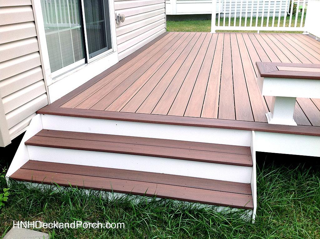 Deck Steps Gallery  HNH Deck and Porch LLC 4433245217