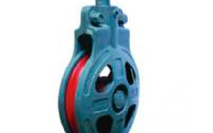 HC Services single wheel marine snatch block