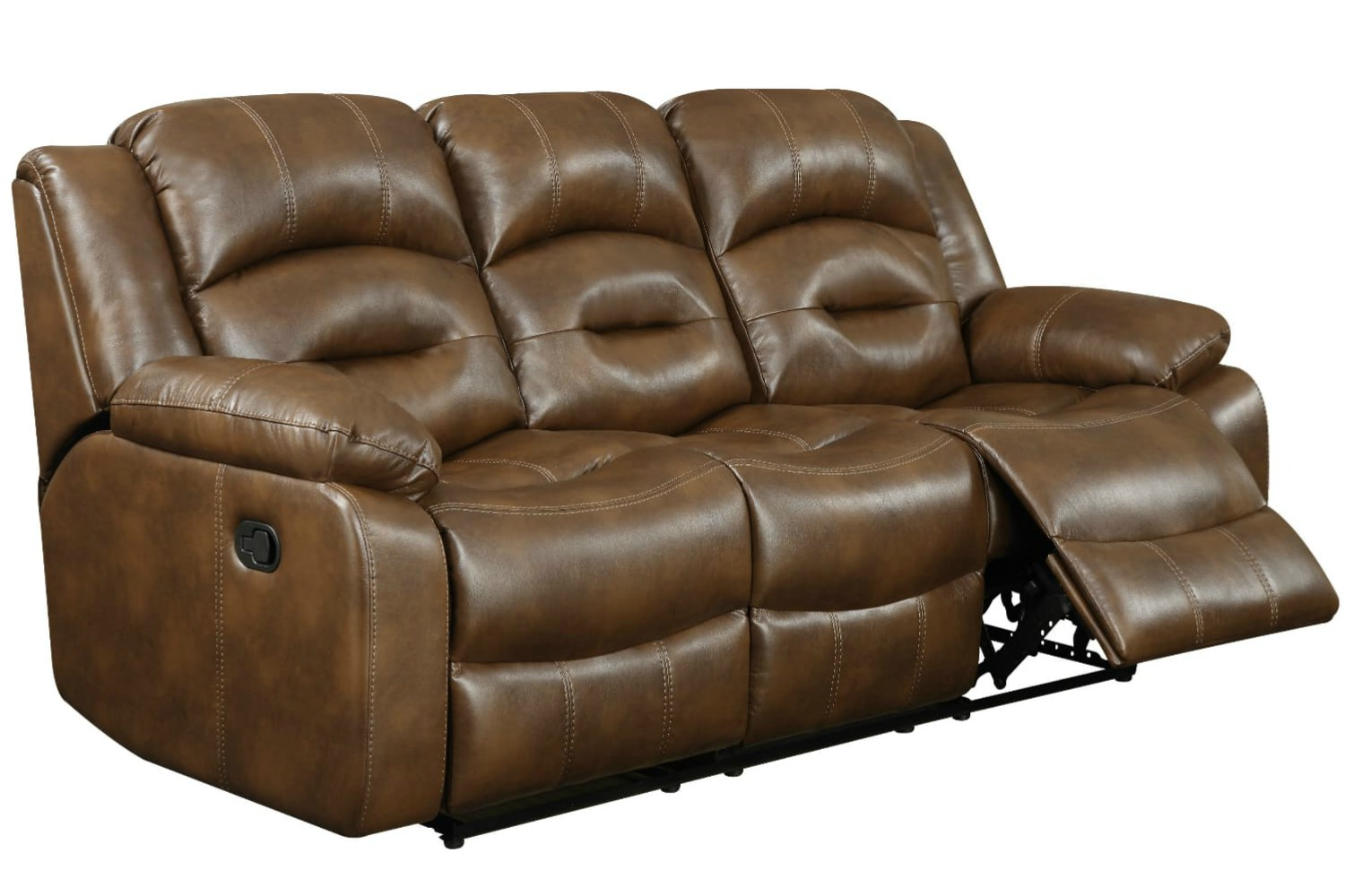 harveys 3 seater recliner sofa canyon ridge microfiber queen sleeper global furniture direct