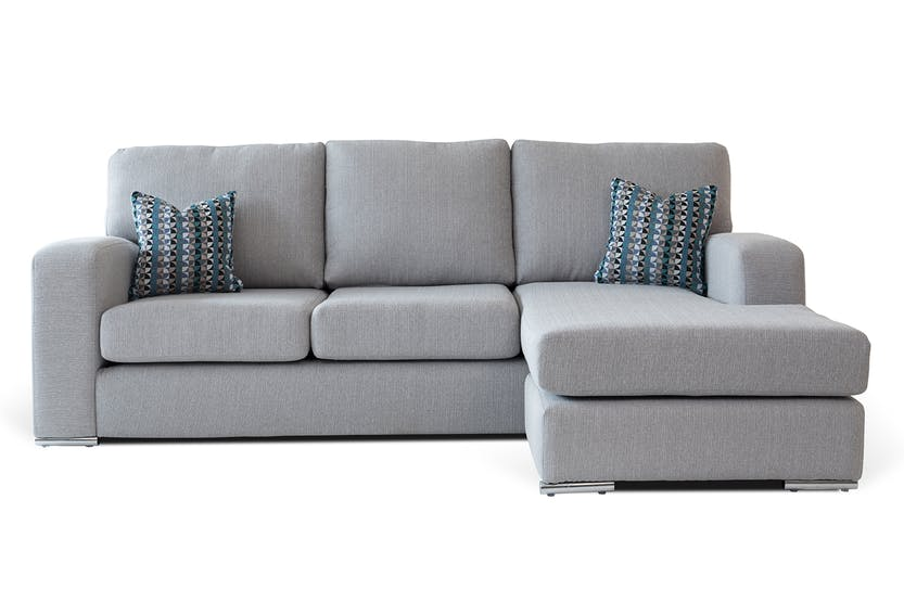 harvey norman york sofa bed with chaise without back or sides coast ireland