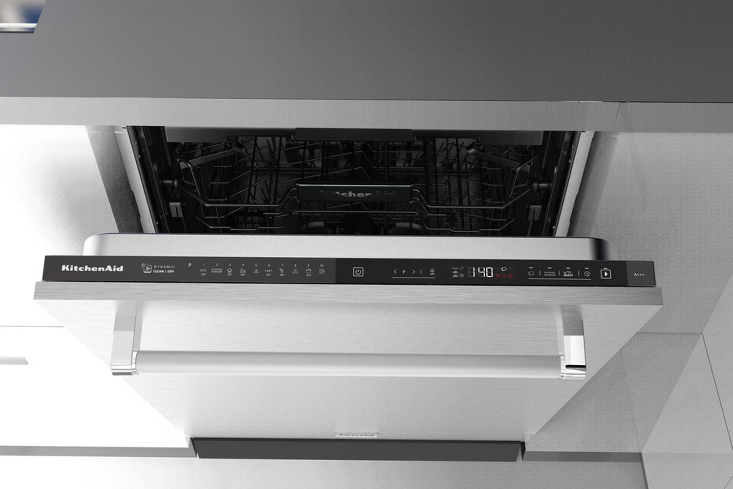 kitchen aide dishwasher affordable curtains kitchenaid integrated 14 place kdscm82142 ireland