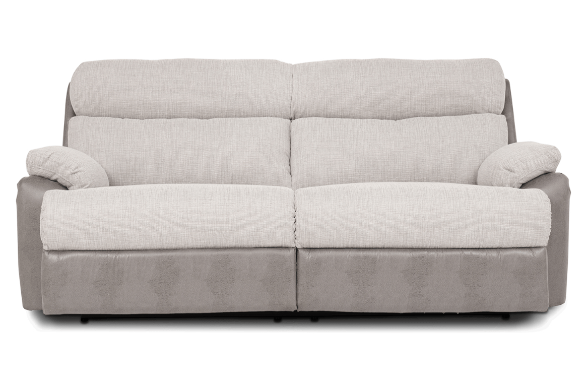 leona 3 seater recliner sofa traditional rolled arm fabric sofas ireland charlie manual