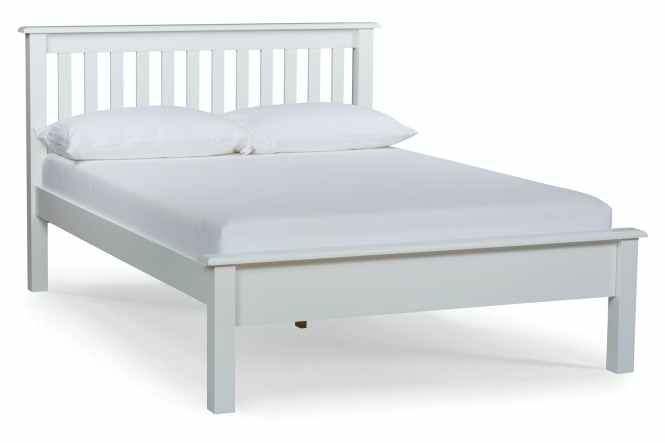 Shaker Small Double Bed Frame 4ft White