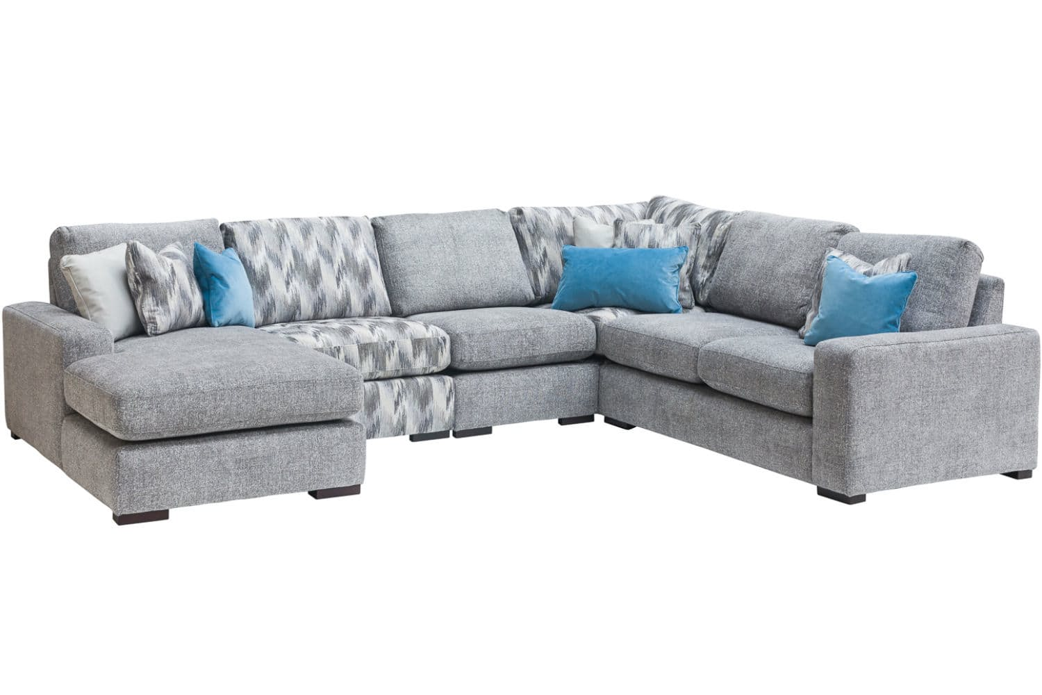 sofa w chaise chair legs replacement gotham with ireland