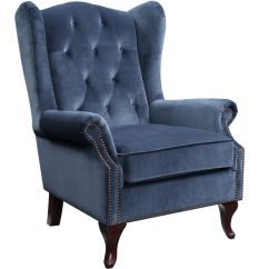 Accent Chair Blue Recycled Plastic Chairs Harriot Ireland