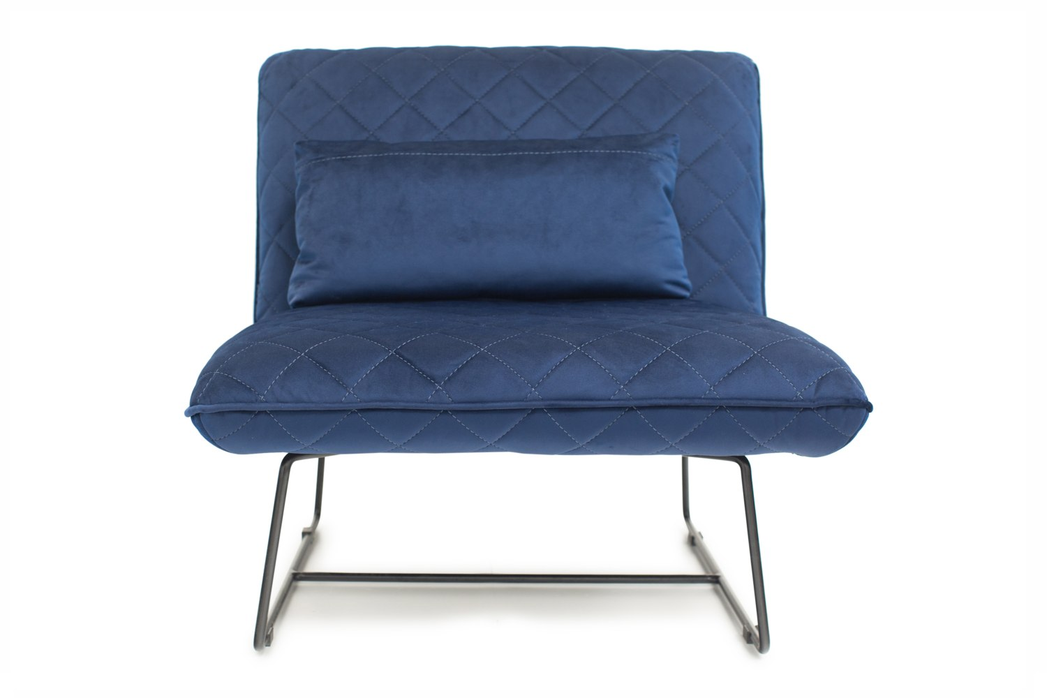 Blue Slipper Chair Sofi Accent Chair