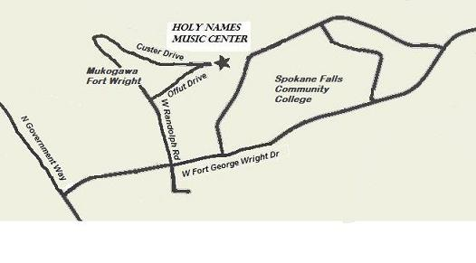 Location Holy Names Music Center
