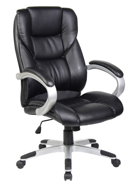 executive leather office chairs QUALITY SWIVEL PU LEATHER EXECUTIVE OFFICE FURNITUE COMPUTER DESK OFFICE CHAIR | eBay