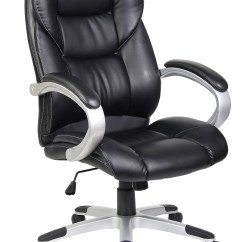 Pu Leather Office Chair Round Wicker Outdoor Quality Swivel Executive Furnitue Computer Desk Brand New In Original Box High Luxury
