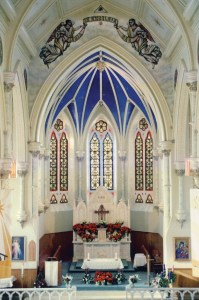 Interior of Holy Name of Mary Parish, Almonte