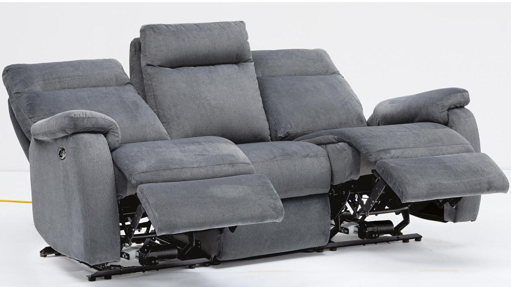reclining mage sofa brown leather bed debenhams electric skylar recliner corner ireland