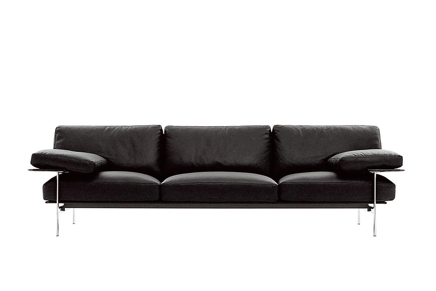contemporary leather sofas sydney pottery barn deep sectional sofa diesis by antonio citterio and paolo nava for b&b ...