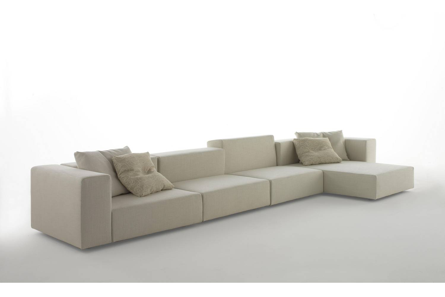 wall sofa cheap tufted 1 by piero lissoni for living divani space