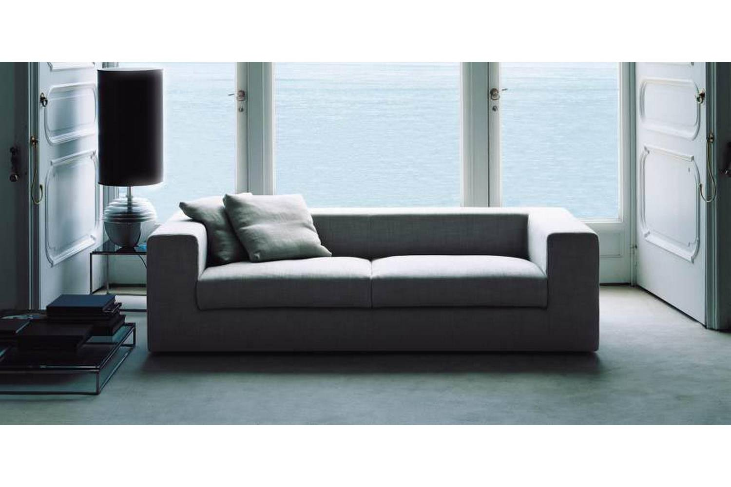 wall sofa lamps bed by piero lissoni for living divani space