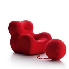 Santa Chair Covers Australia Wilkhahn On Review B Italia Space Furniture Up Junior Upj Armchair By Gaetano Pesce For