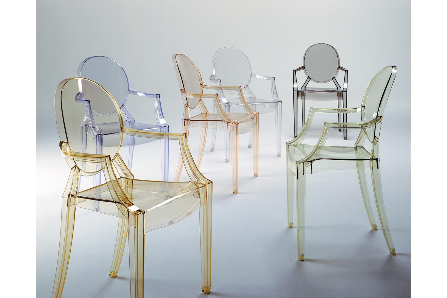 cushions for ghost chairs high backed office uk louis chair with arms by philippe starck kartell