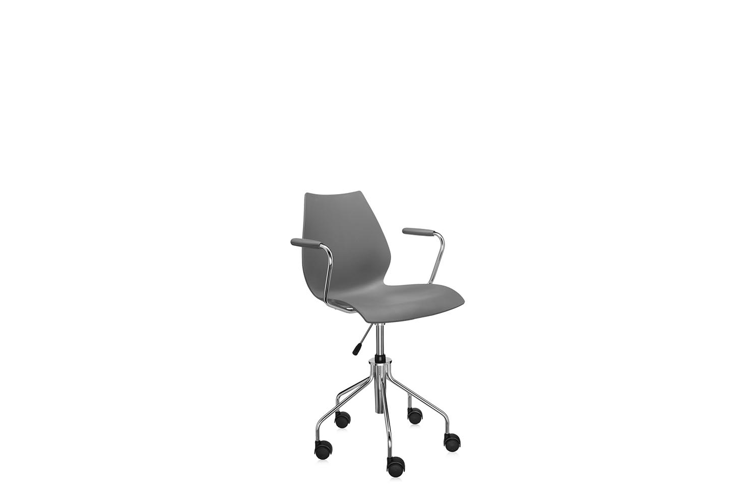 Maui Office Swivel Chair With Arms By Vico Magistretti For Kartell Space Furniture