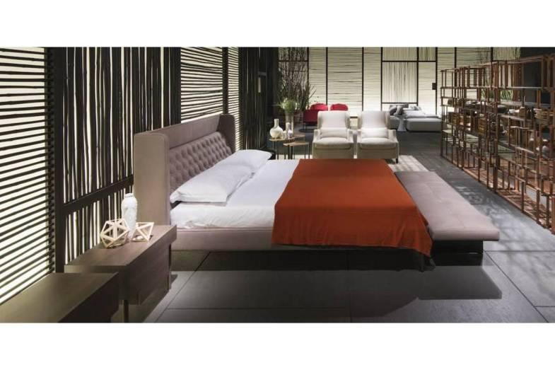 Lipp Bed By Piero Lissoni For Living Divani Space Furniture