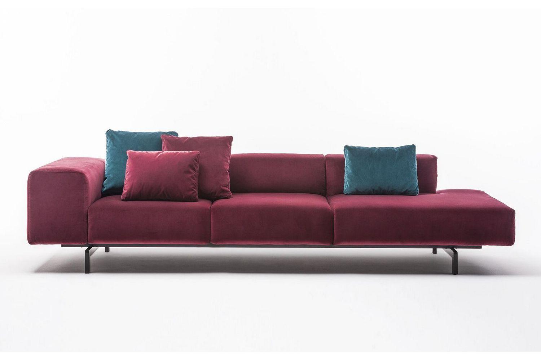kartell sofa largo de 3 lugares simples e barato velluto by piero lissoni for space