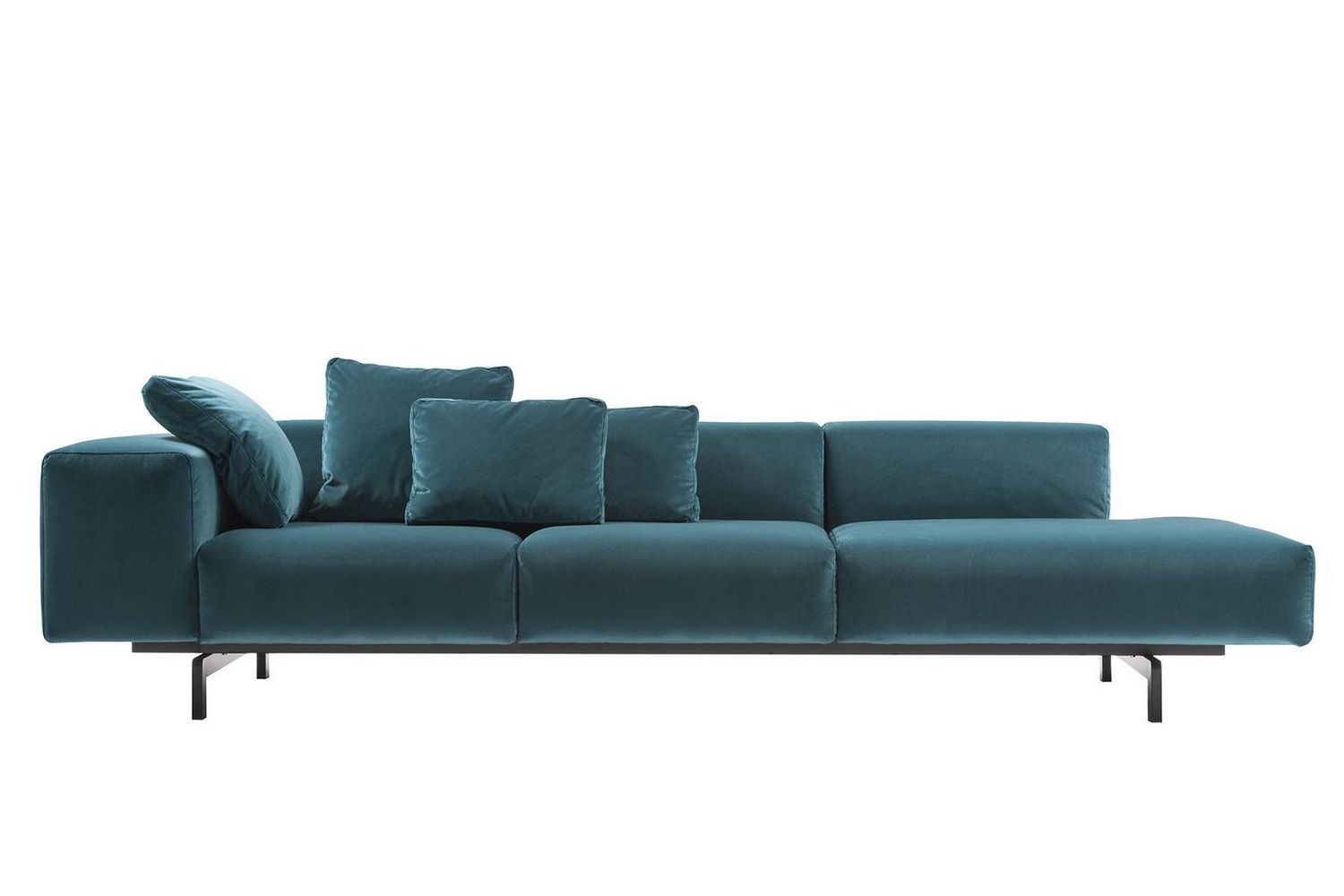 velvet sofas melbourne sofa seats theatre in delhi largo velluto by piero lissoni for kartell | space ...