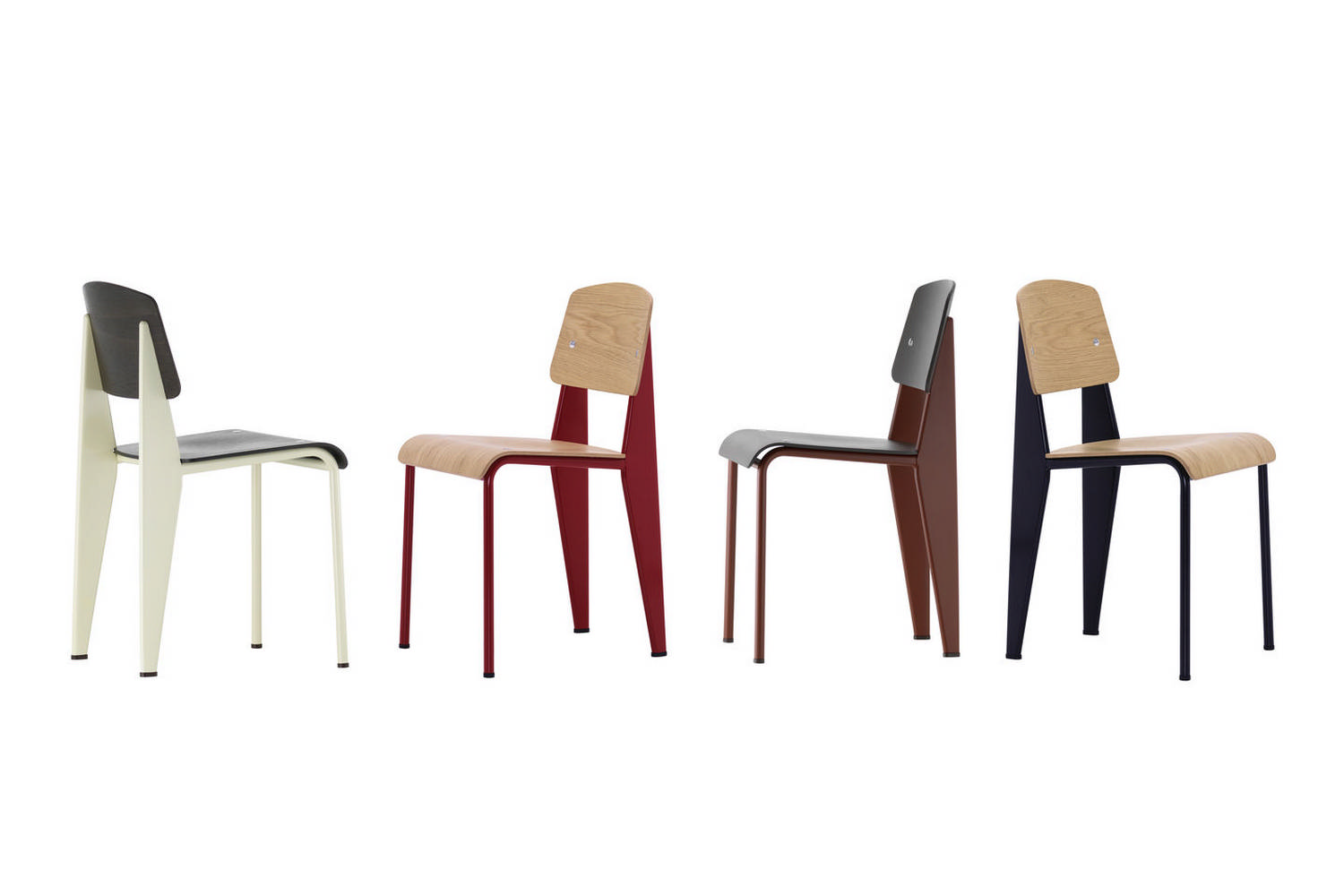 chair standards sayl task standard by jean prouve for vitra space furniture