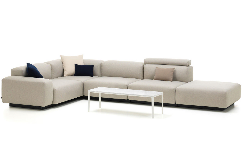 vitra sofa modular lazar sofas soft 4 seater by jasper morrison for