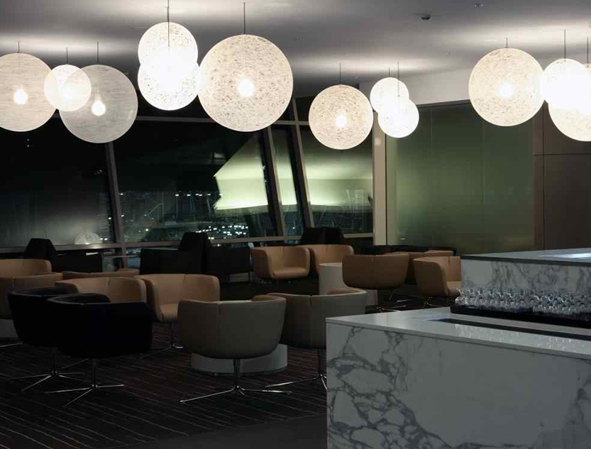 Qantas Business Lounge Sydney Domestic Terminal 3  Space