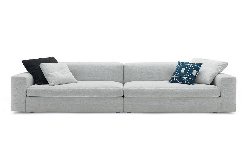 dune sofa orange corner bed by carlo colombo for poliform australia