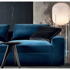 Dune Sofa Tufted Chaise Lounge By Carlo Colombo For Poliform Australia