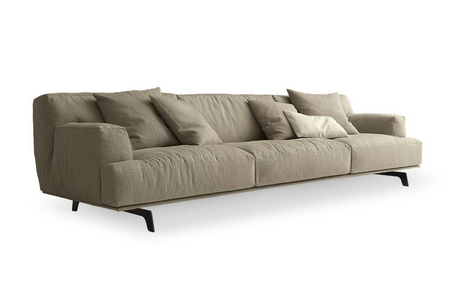 j m paquet sofa sicily leather effect clic clac bed review tribeca by massaud for poliform