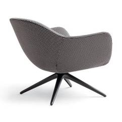 Revolving Chair With Net Steel Folding Mad Armchair By Marcel Wanders For Poliform