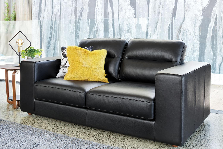Romano 2 Seater Leather Sofa Harvey Norman New Zealand