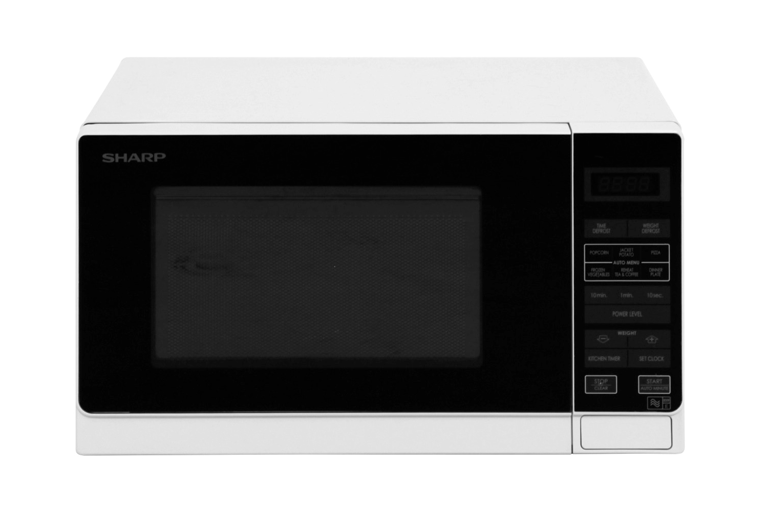sharp compact size microwave oven