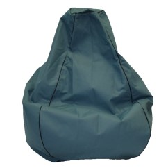 Teal Bean Bag Chair Bow Arm Morris Studio Premium Canvas Harvey Norman New