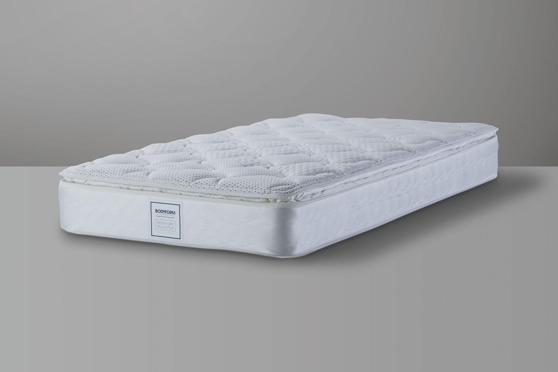 bodyform pillowtop single mattress by sealy