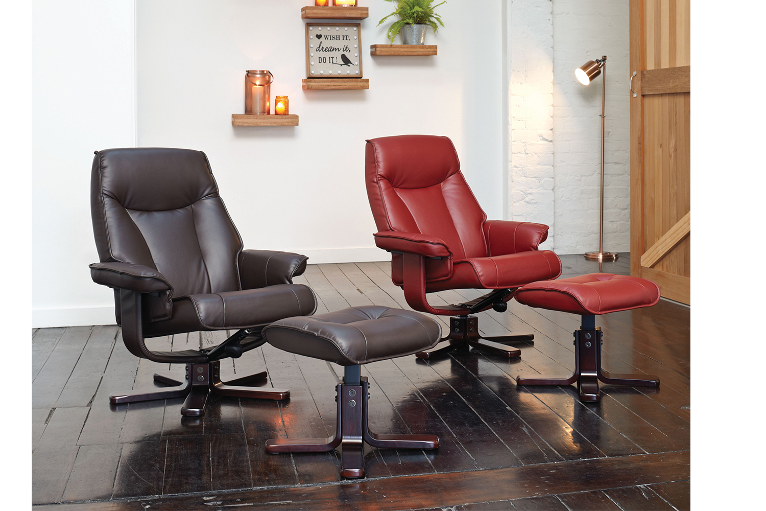electric reclining chairs nz costco zero gravity chair zurich and footstool by debonaire furniture harvey