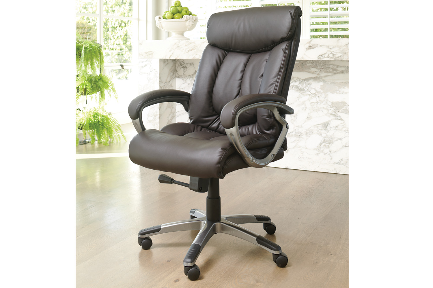 desk chair harvey norman white leather barber cooper office new zealand