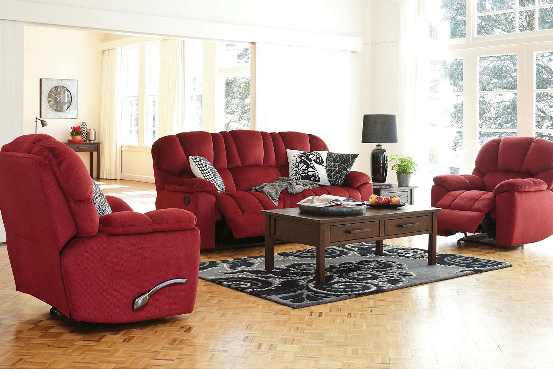 Scottland 3 Piece Fabric Recliner Lounge Suite John