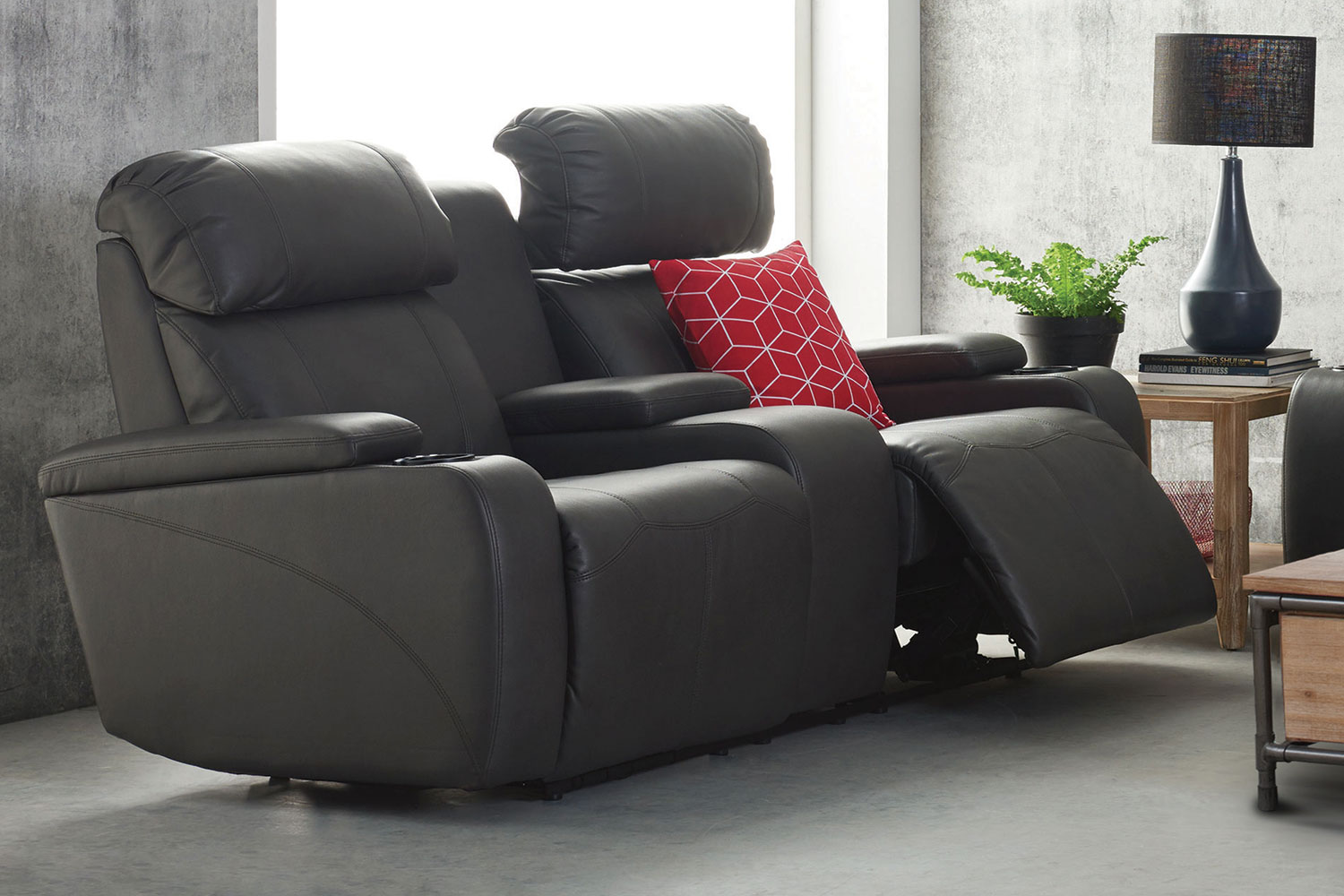 home theater leather sofa reversible furniture protectors for theatre ted boerner design within reach